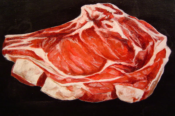 Meat Painting Artist